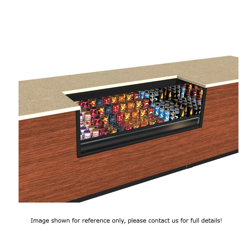 """Structural Concepts CO33R-UC-E3 Express 3 Oasis Self Service Refrigerated Undercounter Case, 36-1/4 W x 32"""" D x 32-3/4 H"""