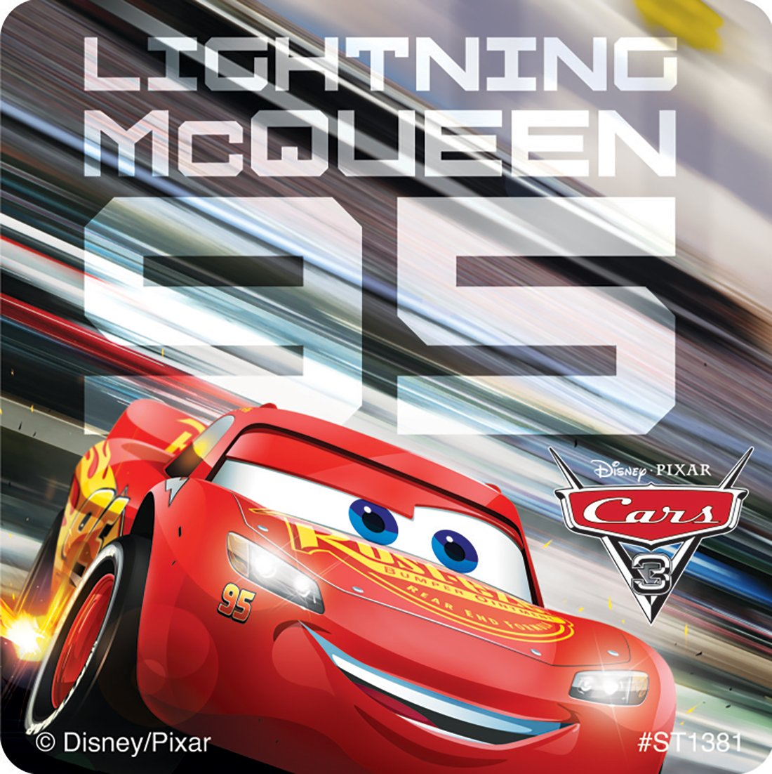 Cars 3 Movie Stickers Prizes 100 per Pack SmileMakers Inc SG/_B071DZVYD4/_US