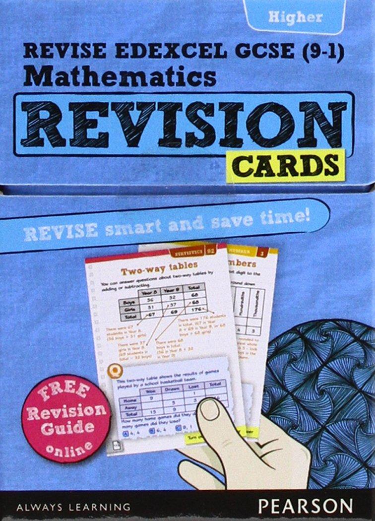 Revise edexcel gcse 9 1 mathematics higher revision cards revise edexcel gcse 9 1 mathematics higher revision cards includes free online revision guide revise edexcel gcse maths 2015 amazon mr harry publicscrutiny Gallery