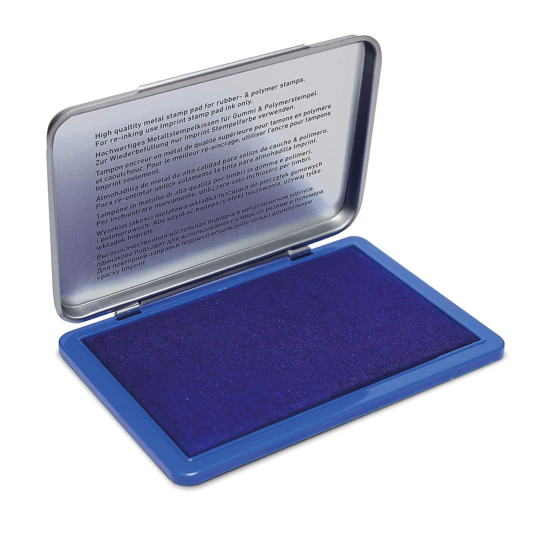 metal 11/x 7/cm Azul Trodat 9072/M Imprint Tamp/ón