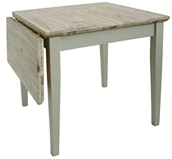 Florence square extended table (75-110cm). Kitchen table with wooden extendable  table 011f9e71c