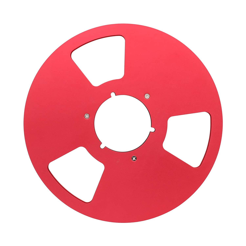 Silver 10 Full Aluminum Blank Tape Reel to Reel Recorder Empty Spool for Studer Revox Nagra Black Silver Gold Blue Red Pack of 1PC