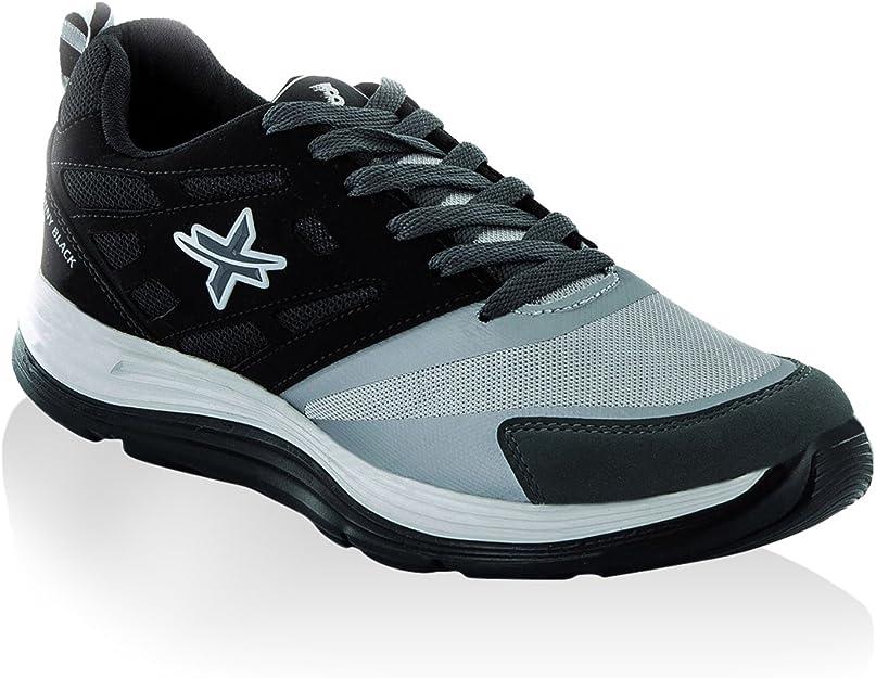 Tony Black Men's Gymnastics Shoes Grey
