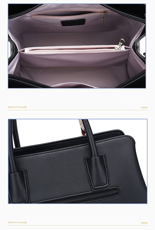 Bolsos para Damas Diseñador Lady Bolsos de Cuero Bolso Crossbody Bolsos Bolso de Hombro Bolso de Mano Femenino (Color : A): Amazon.es: Hogar