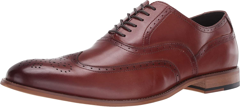 STACY ADAMS Men's Oxford Dunbar-Wingtip Shoes