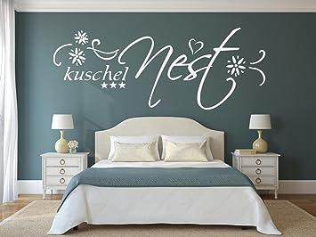 XXL Wandtattoo fürs Schlafzimmer Text ~ Kuschelnest ...