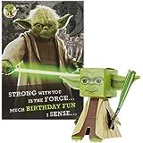 Hallmark - Biglietto per auguri di compleanno, Star Wars 'Build Your Own Yoda'