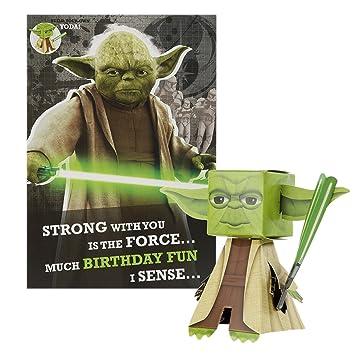 Amazon.com: Star Wars construir su propio – Tarjeta de ...