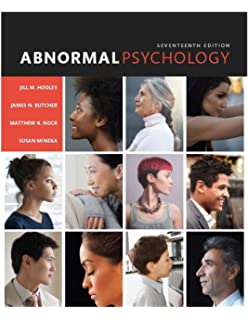 Amazon abnormal psychology a scientist practitioner approach abnormal psychology 17th edition fandeluxe Images