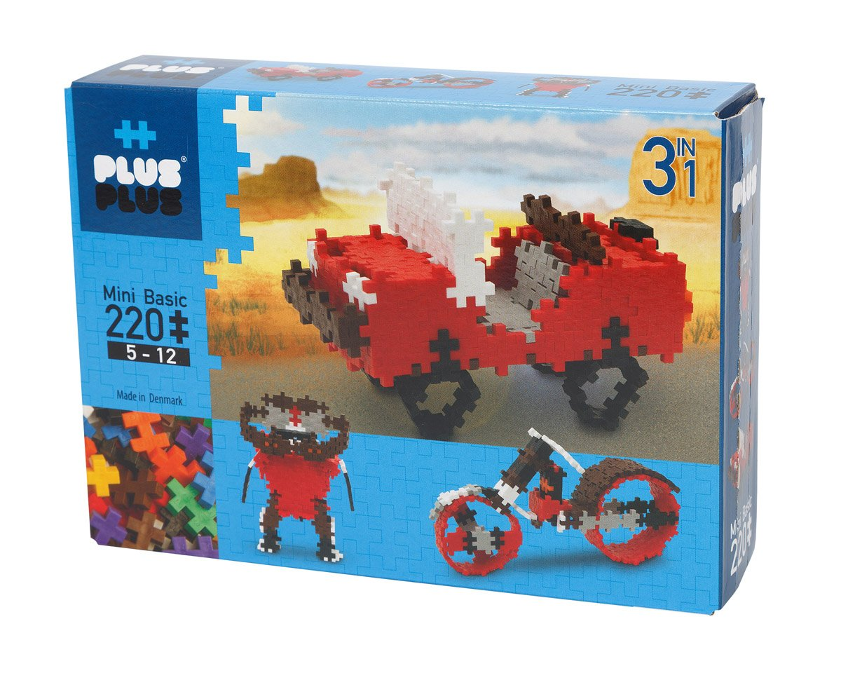 PLUS PLUS Robots Building Set 170 Piece