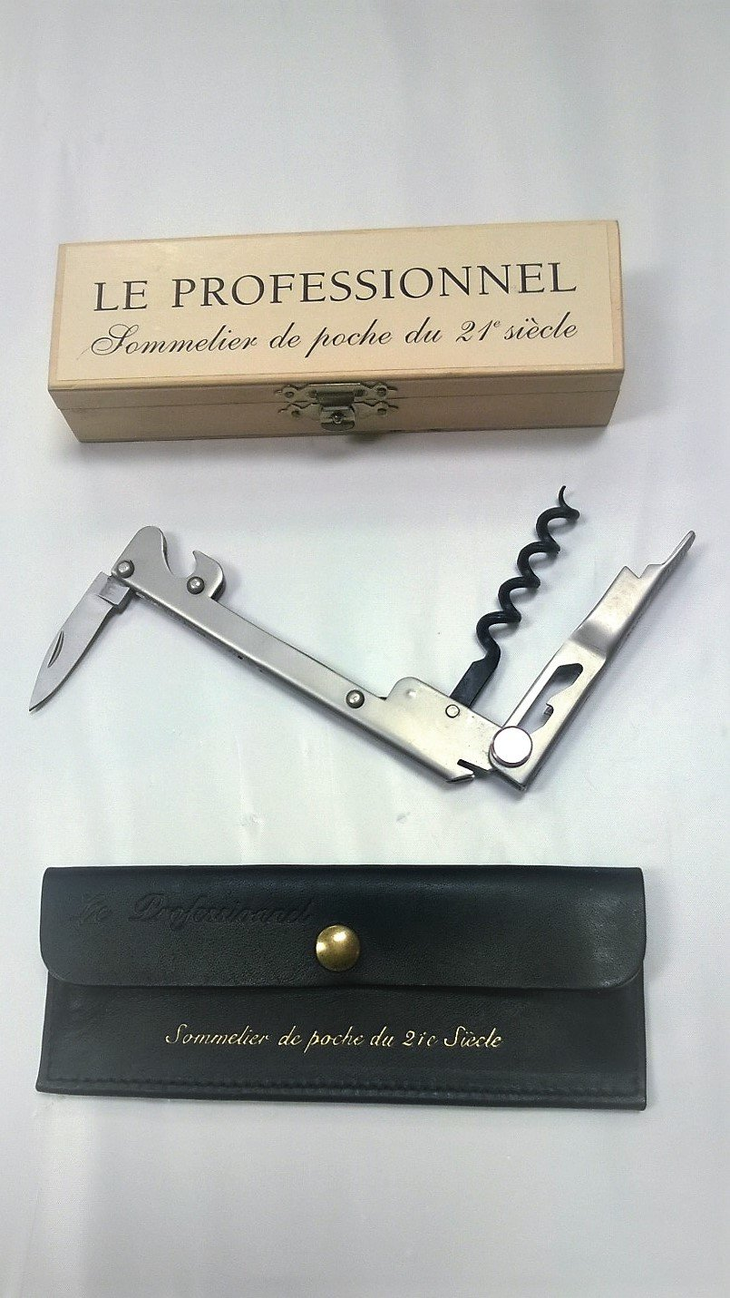 Le Sable French Waiter's Corkscrew - Patented, made in FRANCE