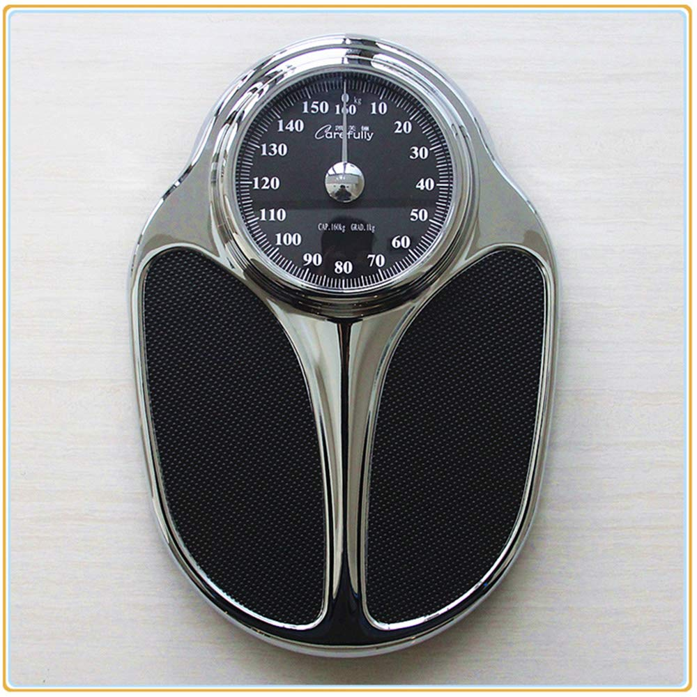 koovin Mechanical Scales-Bathroom Professional Scales-Analogue Dial,Sturdy Metal Platform,No Batteries,Medical Health Scales(160 Kg,353 Lbs)