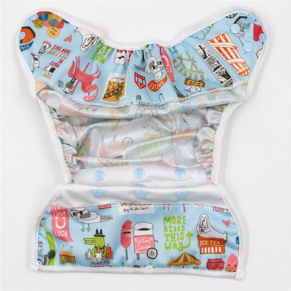 C04 Reusable New Newborn Infant Baby Cloth Diaper cover Washable Adjustable