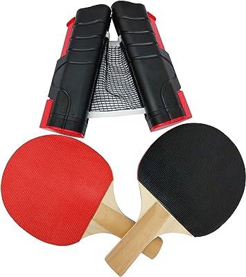 Juego de tenis de mesa ping pong BAT con prima neta paletas ...