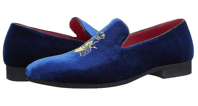 Para estrenar 9a89c def36 Mocasines Hombre Mocasín Zapatos de Vestir Moda Terciopelo ...