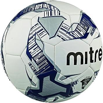 Mitre Primero - Balón de fútbol, Color Azul/Blanco/Plateado, Talla ...
