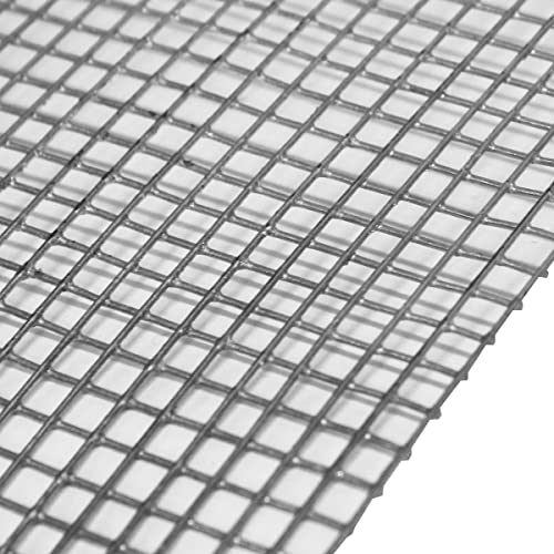 2 Pack Welded Wire Mesh Panels 2.4m x 1.2 (8ft x 4ft) Galvanised ...