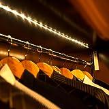Amagle Flexible 3.28ft 3000K Warm White LED Strip Light, Motion Sensor Activated, Lighting for Kitchen, Cabinet, Drawer, Stairs