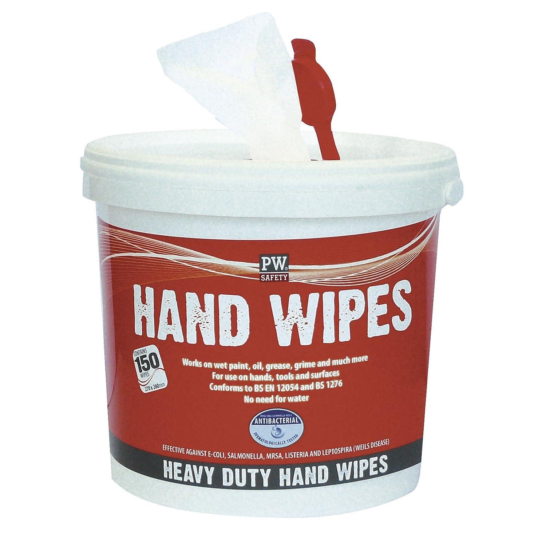Portwest - Iw10whr toallitas para la limpieza de manos, blanca: Amazon.es: Industria, empresas y ciencia