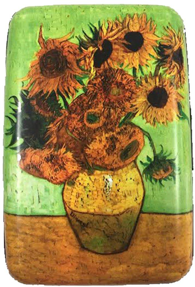 RFID Secure Armored Wallet - Fine Art 1, Sunflower