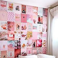 Flamingueo Muurdecoratie Foto's - 50 Esthetische Slaapkamerdecoratie Foto's, Slaapkamer Muurdecoratie…