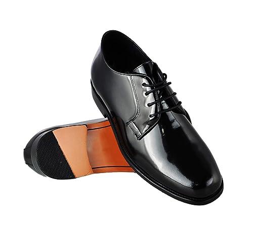 c278d3ab ZERIMAR Zapatos con Alzas Interiores para Caballeros Aumento 7 cm | Zapatos  de Hombre con Alzas Que Aumentan su Altura | Zapatos Elegantes para Hombre:  ...