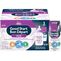 NESTLÉ GOOD START Stage 1 with DHA, Baby Formula, Ready to Feed, 250 ml, 0+ months, 16 Pack