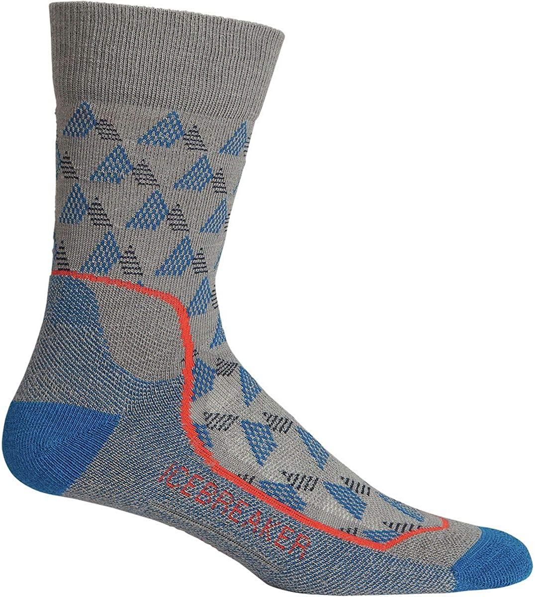 Mens Icebreaker Hike Lite Cushion Crew Sock