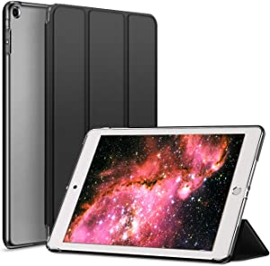 Kenke iPad Case Mini 1/2/3 Generation Slim Lightweight Smart iPad Cover 7.9 Inch,Transparent Hard Shell with Auto Sleep Wake for iPad Mini 1, Mini 2, Mini 3 (Black)