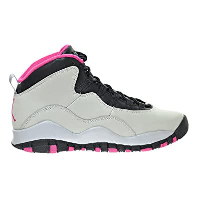 new styles 5611f 346cf Amazon.com | Jordan Air 10 Retro (GS) Girl's Shoes Pure ...