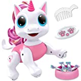 Power Your Fun Robo Pets Unicorn Toy - Remote Control Robot Pet Toy, Interactive Hand Motion Gestures, Walking, and…