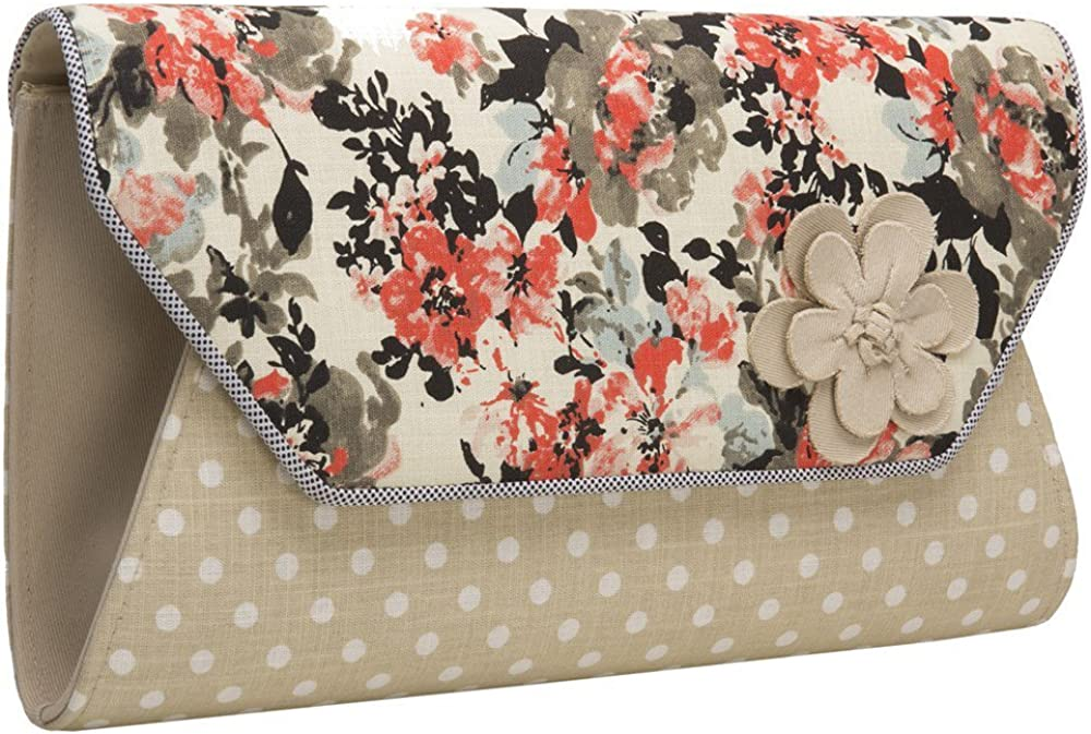 Ruby Shoo Womens Naples Clutch Bag