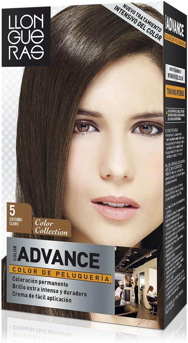 Llongueras color advance 5 castaño claro: Amazon.es: Belleza