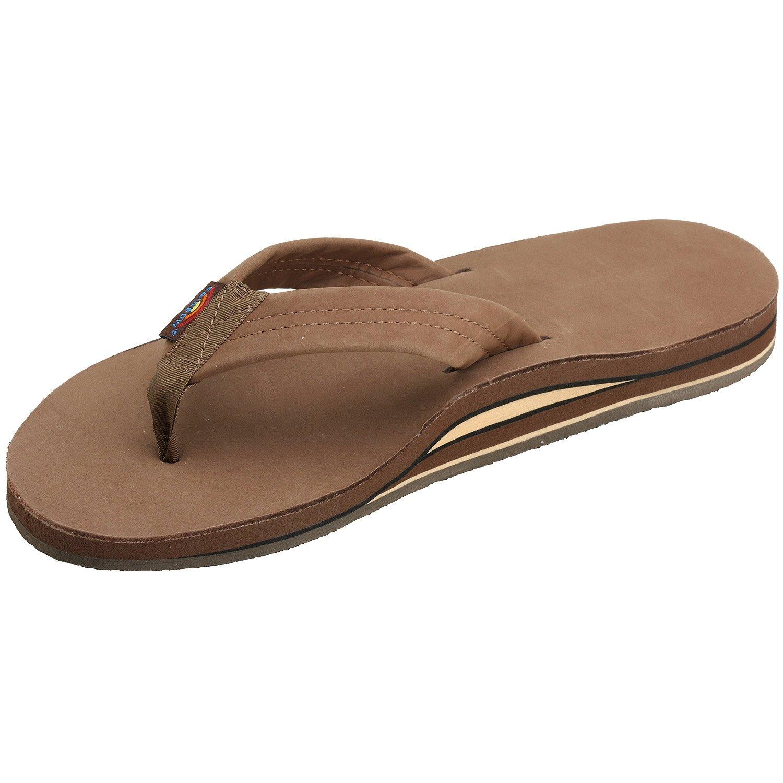 dfc8bebb0a Rainbow Sandals Men's Double Layer Leather Sandal