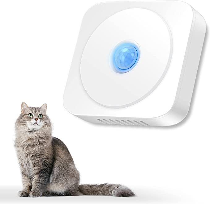 OPOLEMIN Smart Cat Litter Deodorizer, Odor-Free Cat Litter Box Solution, A Revolutionary Invention for Remove All Kinds of Smell of Cat Litter Box Pet House Bathroom Wardrobe Kitchen
