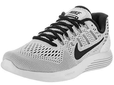 7df5679428d6 Nike Womens Lunarglide 8 White Black Running Shoe 10.5 Women US ...