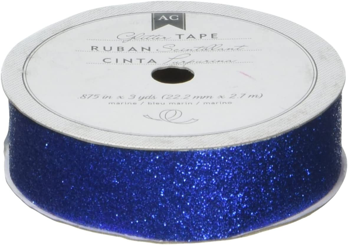 Marine American Crafts Glitter Tape 5//8-Inch