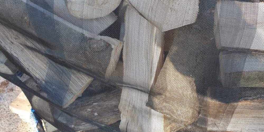 10 x Holz Big Bag 100x100x120cm Sternenboden Holzbag Brennholz Kaminholz Woodbag