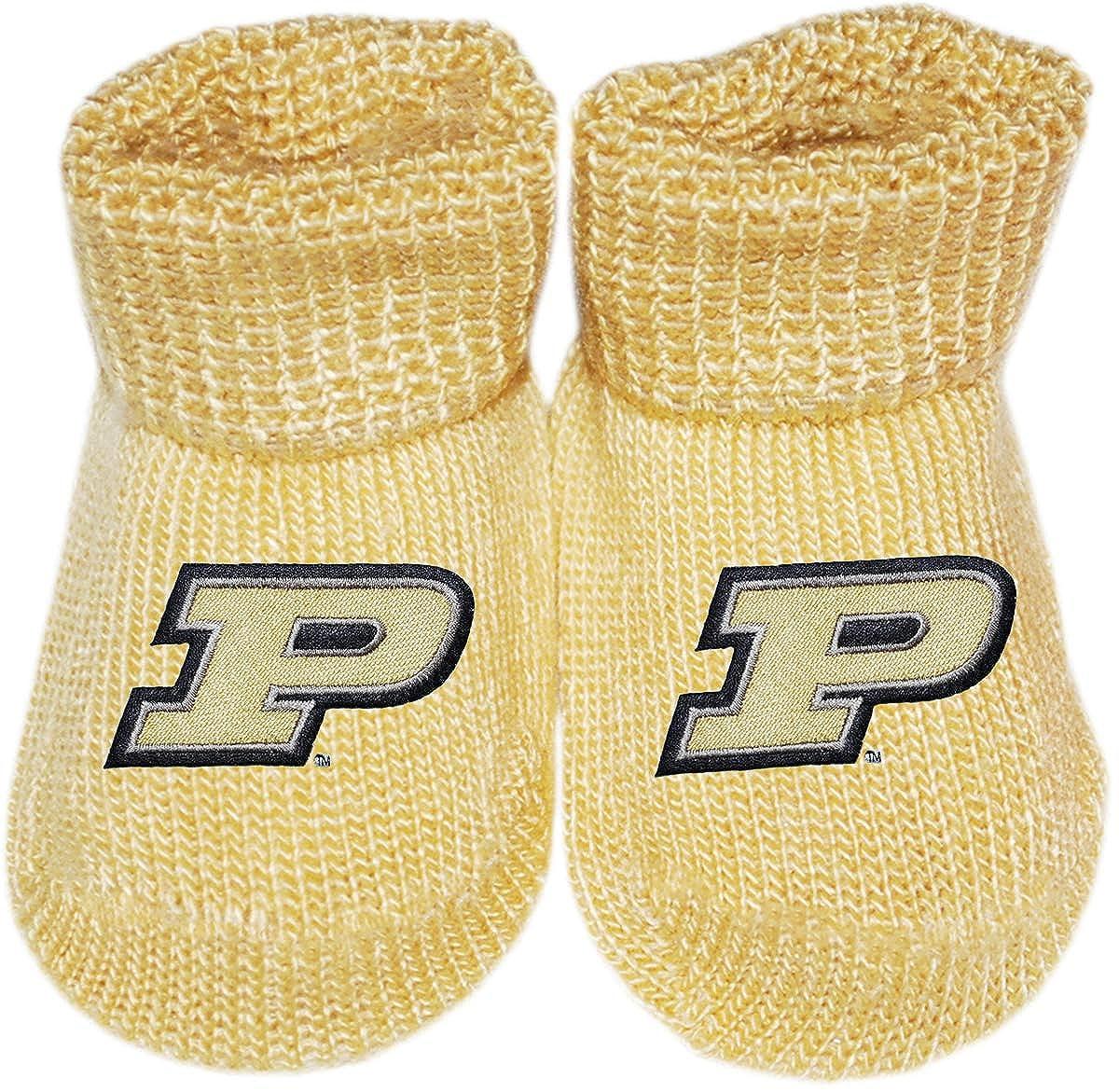 Purdue Newborn Baby Bootie Sock
