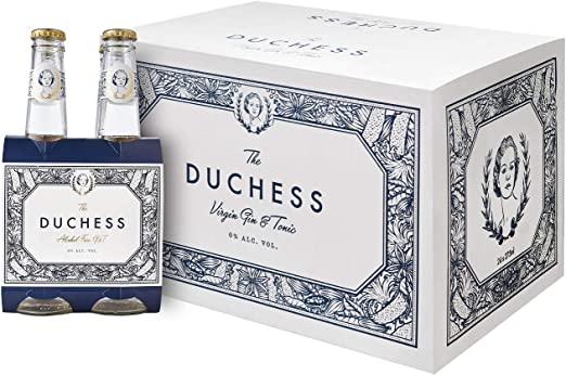 The Duchess Alcohol-Free Gin & Tonic (Botanical, Pack of 12 ...