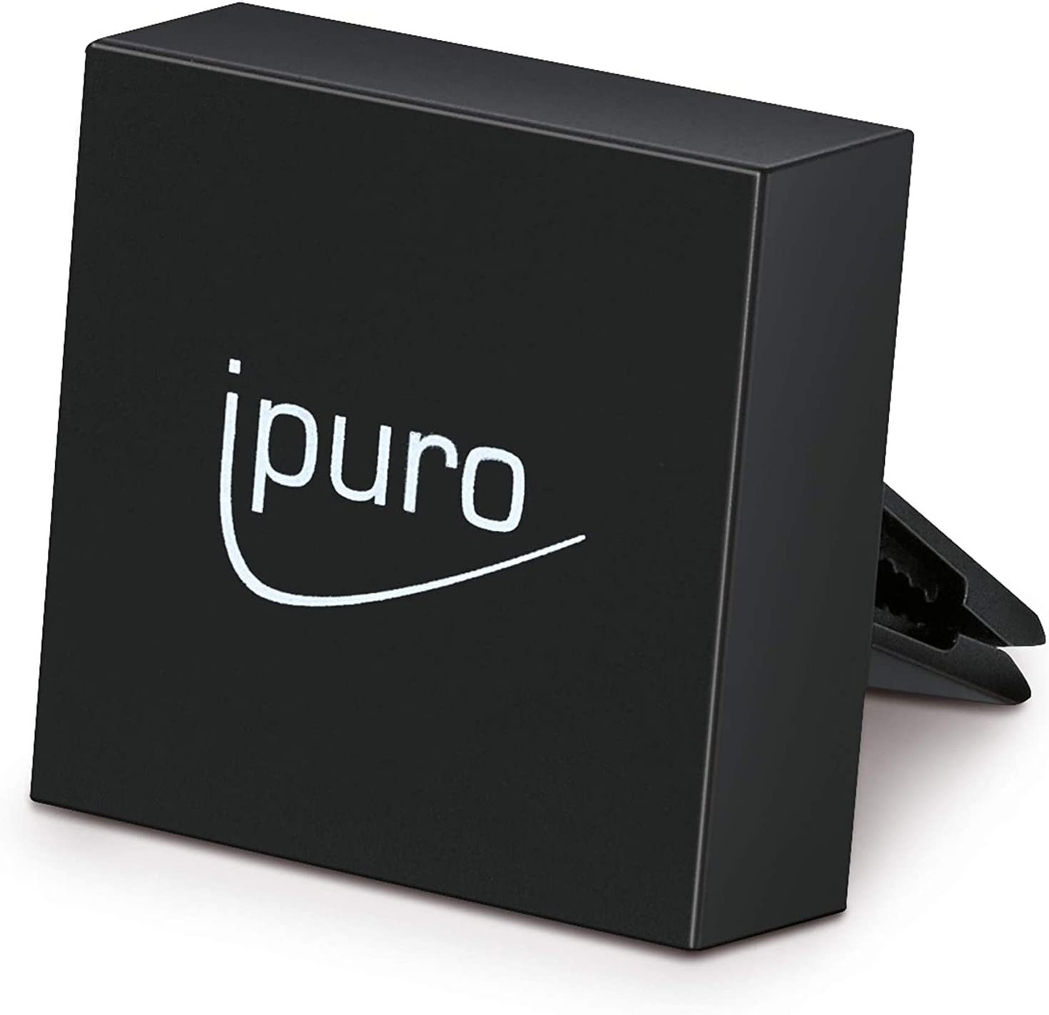 Ipuro Autoduft Car Clip Black Hochwertiger Duftspender Für Ihr Auto Einfache Montage Am Lüftungsgitter Automatische Verteilung Durch Die Lüftung Drogerie Körperpflege