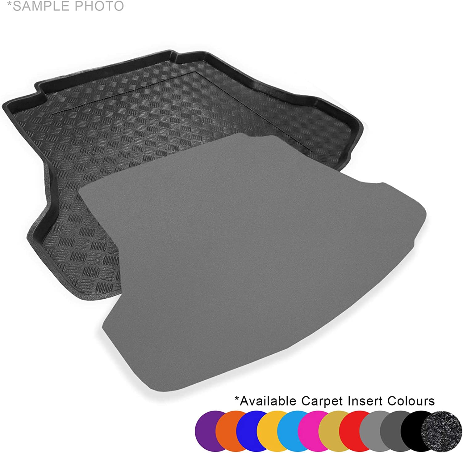 Fully Tailored PVC Boot Liner//Tray CARMATS4U.COM X-Trail III T32 Facelift 2017 FREE Anthracite Carpet Insert Upper Floor of the Boot
