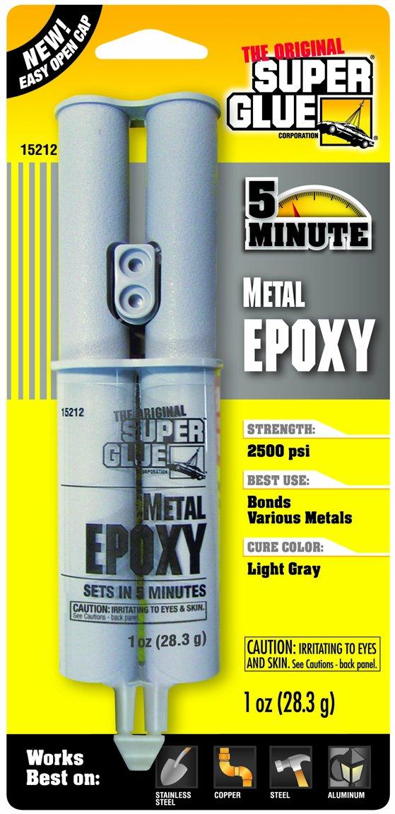 Super Glue Super Glue 15212-12 Quick Setting Metal Epoxy, 12-Pack(Pack of 12) by Super Glue