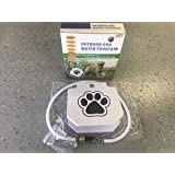 New Design Version Dog Outdoor Water Fountain Step On Automatic Hydration System Fresh Drinking Water Dispenser