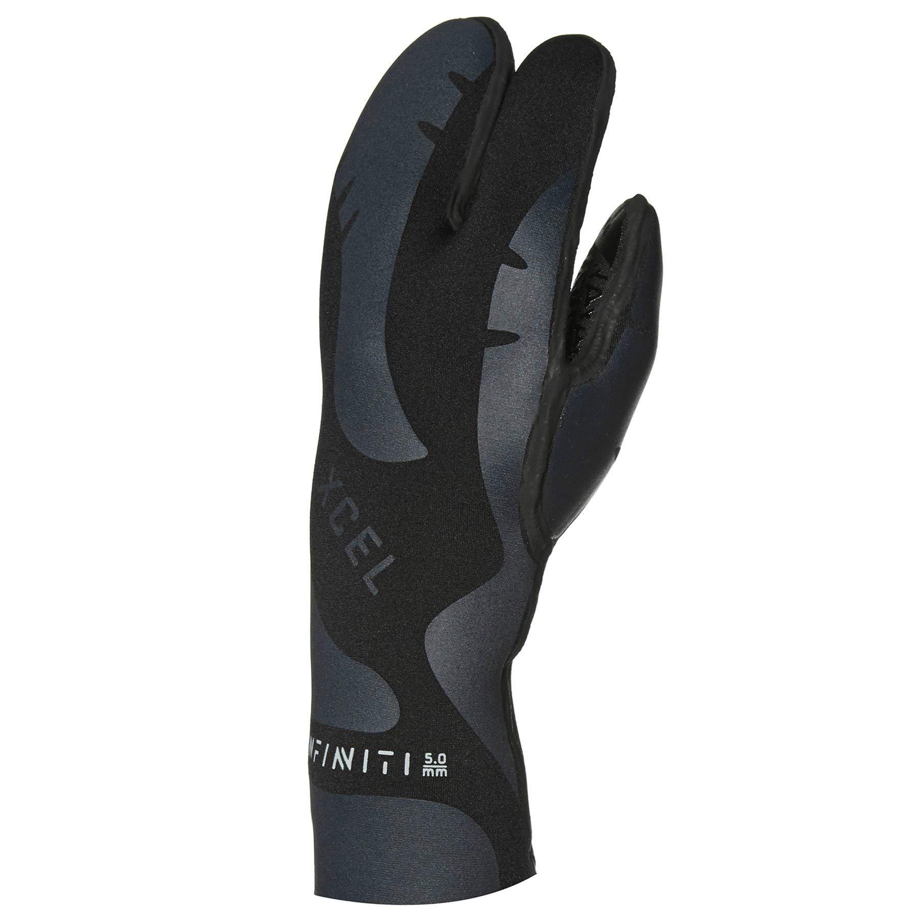 Xcel 5mm Inf 3 Finger Glv Wetsuit Gloves XL Black