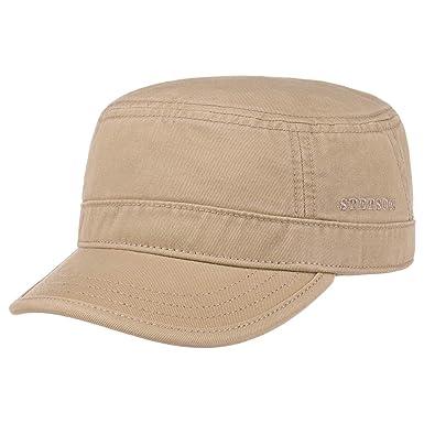hacer un pedido color rápido la mejor moda Stetson Gosper Army Urban Cap Mujer/Hombre - Gorra Militar de algodón -  Gorra Militar con protección UV - Gorra Verano e Invierno - Gorra