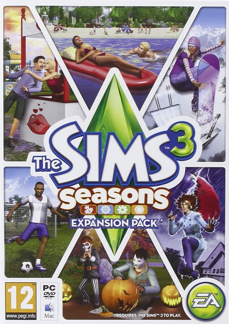 The Sims 3 Seasons Expansion Pack [Importación Inglesa]: Amazon.es ...