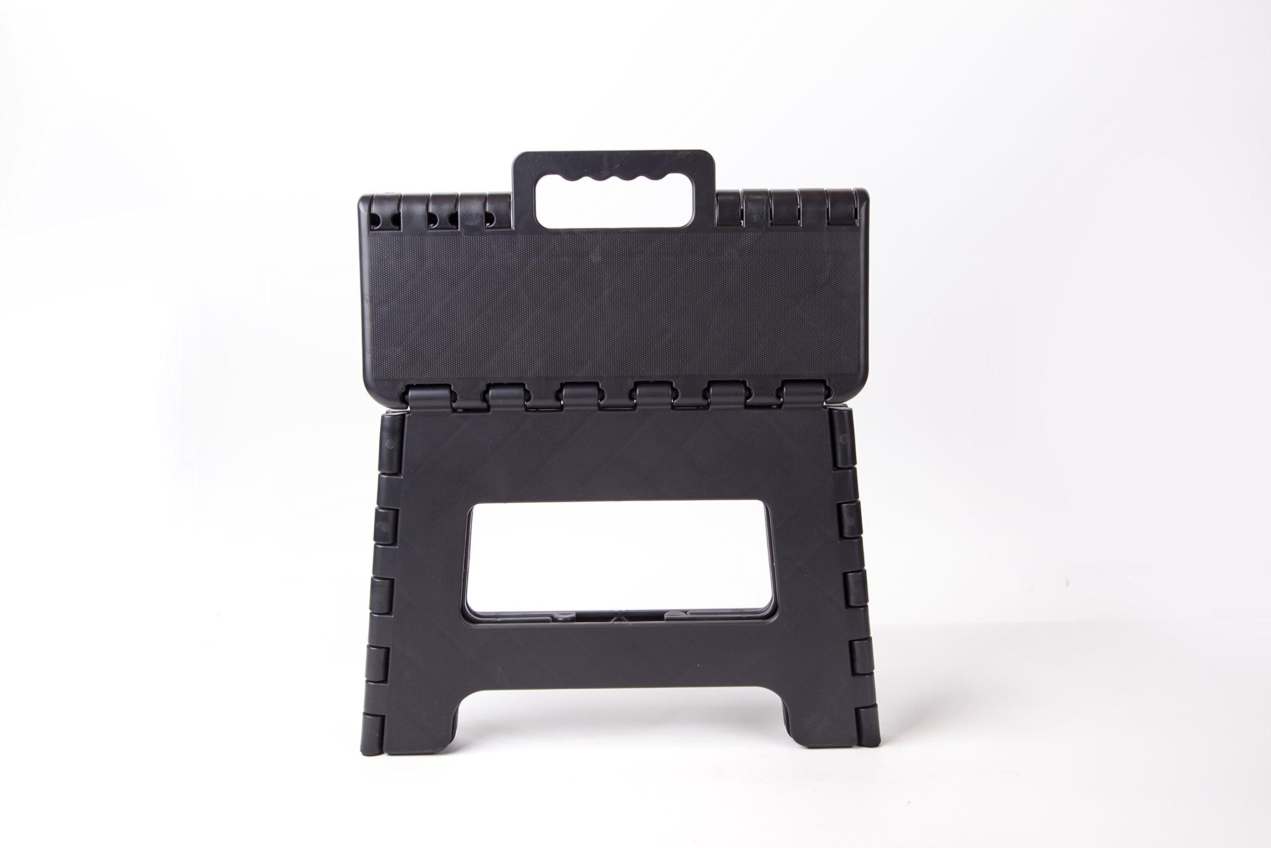 OUMEGO Folding Step Stool, Premium Heavy Duty Foldable Stool For ...