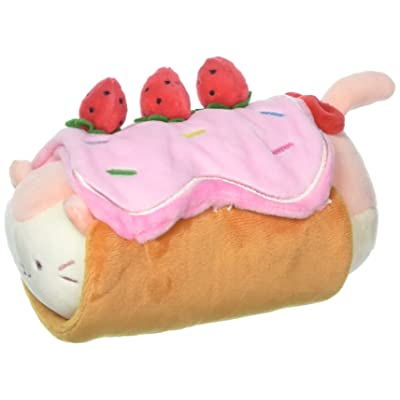 Anirollz GM 8034 Roll Cake Blanket with Soft & Squishy Kittiroll (Small) Plush: Toys & Games