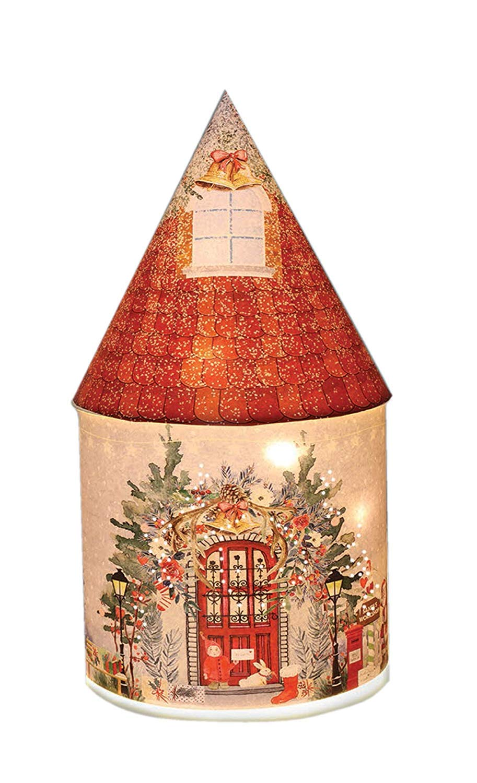 Festive Santas Workshop Christmas Xmas LED House Christmas Lighting Decoration